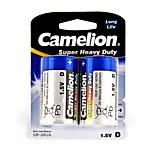 Camelion Super Heavy Duty Primary Batteries Size D (2pcs)