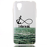 Sea ship anchor Pattern TPU Phone Case for Wiko Sunset