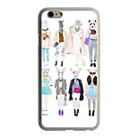 Fashion Show Pattern PC Hard Case for iPhone 6/6S