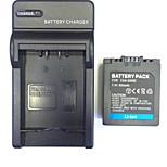 US/UK/EU 8.4V DMW-BMA7/CGA-S006E Home Charger +(1PCS)Battery  for Panasonic FZ7/FZ8/FZ18/FZ28/FZ30/FZ35/FZ38