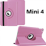 Solid Color PU Leather Auto sleep/wake up Covers for iPad mini 4 (Assorted Colors)