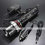 LT  4 Mode 1200 Lumens LED Flashlights 18650/AAA LED Cree XM-L T6