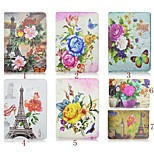 7.9 Inch Building Pattern 360 Degree Rotation PU Leather Case for iPad Mini 4(Assorted Colors)
