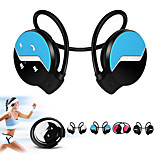 neckband de sport élastiques stéréo plié sans fil Bluetooth 4.0 casque écouteurs de sport d'écouteurs pour Samsung S5 S6