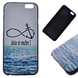 Anchor Pattern Hard Back Case for iPhone 6