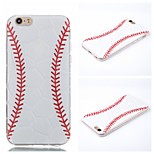 Baseball  Pattern Phone Shell Thin TPU Material for iPhone 6/6S