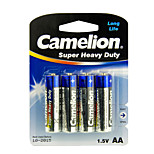 Camelion Super Heavy Duty Primary Batteries Size AA (4pcs)