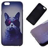 modello del gatto cassa posteriore duro per il iphone 6