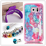 PU+TPU Stent Painting Pattern Wallet Mobile phone for Samsung Galaxy S6 edge