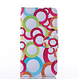 Bubble Pattern PU Leather Full Body Case with Stand for Nokia N640