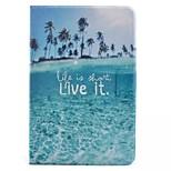 Coconut Tree Pattern Standoff Protective Case for iPad Mini 4