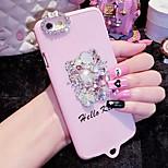 lady®elegant / persoonlijkheid telefoon case / hoes voor de iPhone 6 / 6s (4.7) versierd met diamant, meer kleuren beschikbaar