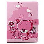 Embossed PU Leather Holster Folio Case Waterproof Case for iPad 4/3/2