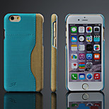 Ultra Thin Luxury PU Leather Phone Back Cover with Card Slot for iPhone 6/6S