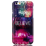 Hope lovePattern TPU  Back Cover Case for iPhone 6/iPhone 6S