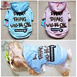 FUN OF PETS®Lovely English Words Printing Hoodies Dog Clothes for Pets Dogs (Assorted Sizes and Colours)