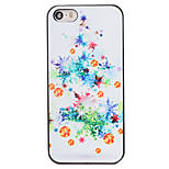 Christmas Style White Tree Bells Pattern PC Hard Back Cover for iPhone 5/5S