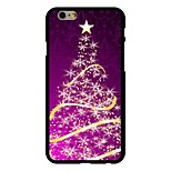 Dream  Christmas Tree Pattern PC Hard Case for iPhone 6/6S