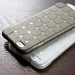 cubo de la caja del teléfono de TPU transparente para el iphone 6plus / 6s más (colores surtidos)