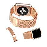 Fashion Business Affairs Milan Stainless Steel Watchband for Apple iWatch 38MM 42MM