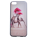 Elephant Painting Pattern PC Case for iPhone 5C