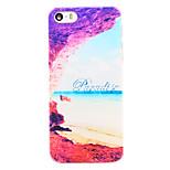 Paradise Coast Muster transparent pc Schutzhülle für iPhone 5 / 5s