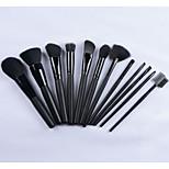 2015 Hotsale 12pcs Professional Makeup Brush Set High Quality Cosmetic Tool