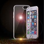 Ultra Thin Transparent Scrub TPU Case for iPhone 6/6S