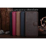 Ultrathin Design High-quality PU+PC Leather Full Body Case with Kickstand and Retro Style for Iphone6
