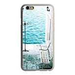 The Sea of Tranquility  Pattern PC Hard Case for iPhone 6/6S