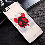 Red Ear Pattern TPU and PC Material Combo Phone Case for iPhone 6/6S