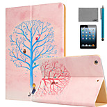 LEXY® Wishing Tree Pattern PU Leather Flip Stand Case with Screen Protector and Stylus for iPad Mini 1/2/3