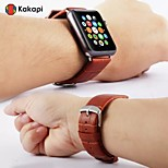 Classic Buckle With Alligator Pattern Connector Watchband Pu for IWatch Watchband 38mm/42mm Assorted Colors