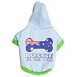 Dog Hoodie / Hoodie A variety of colors / Spring And Fall  Floral / National Flag Fashion