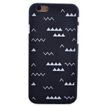 Small Ripple Pattern Smooth Surface PC Hard Back Cover Case for iPhone 6/6S