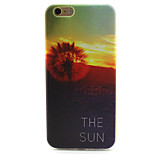 Sunset Dandelion Pattern TPU Case for iPhone 6S/6
