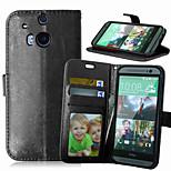 Mehrfarben-PU-Leder-Tasche für HTC m8 / m9 (verschiedene Farben)