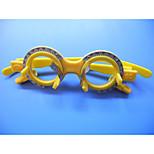 Adjustable Mixed Materials Plastic Trial Frame