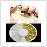 1PCS 1MM steel ball fashion Nail Art Decorations