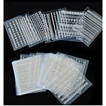 Jóias de Unhas - Adorável / Punk - para Dedo - de PVC - com 5pcs - 62mm*52mm
