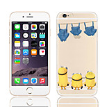 Despicable Me Yellow People Pattern TPU Soft Phone Case for iPhone 5C