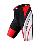 WOSAWE Men's Summer Bike Cycling Quick Dry Breathable MTB Shorts with Professional 4D Gel Padded Woemn's Bicycle Pants