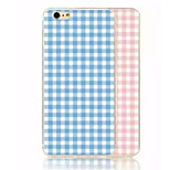Grid TPU Material Phone Case for iPhone 6/6S (Assorted Colors)