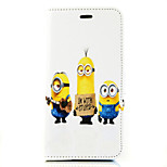 Daddy Series of Small Yellow People Pattern Magnet Phone Holster Buckle for iPhone 6/6S