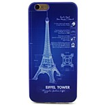 Tower Pattern TPU Soft Cover for iPhone 6/6S