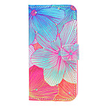 Flower Pattern Diamond Style PU Leather and TPU Full Body Case for iPhone 6/6S