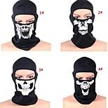 2015 NEW CS Cosplay Ghost Skull Black Face Mask Cap Motorcycle Biker Multi functional Skeleton Hat