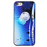 Christmas Style Night Bells Snowflake Pattern PC Hard Back Cover for iPhone 5/5S