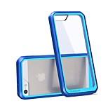 Kratzfestigkeit crashproof tpu extrem transparenten rückseitigen Abdeckung für iphone 5 / 5s (verschiedene Farben)