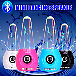 mini altoparlante ballo acqua bluetooth stereo senza fili dell'altoparlante sub woofer per auto iphone 6s Samsung